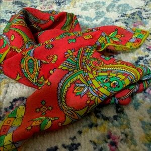 Saks 5th Ave. Silk scarf
